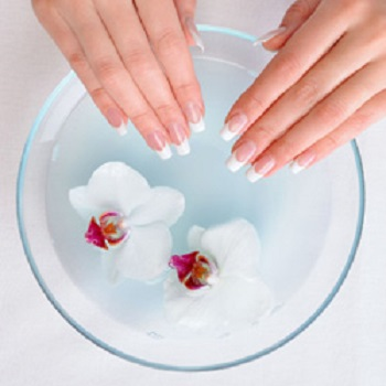 herbal spa pedicure and manicure